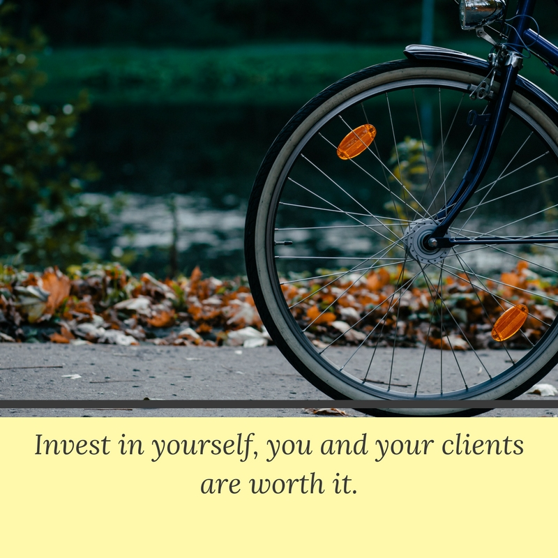 Coaching skills improved when you invest in yourself